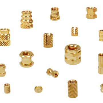 Brass Moulding and Knurling Inserts